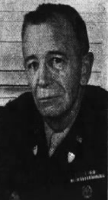 Col. Charles D. Carle as he appeared in the front-page story in the Wilkes-Barre (Pa.) Record on the occasion of his retirement after 32 years in the army.