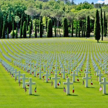 Memorial Day 2017 at the Florence (Italy) National Cemetery.
